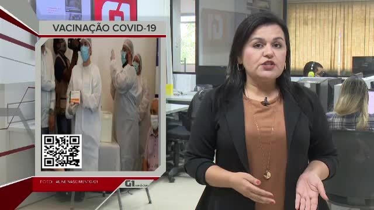 G1 em 1 Minuto - AC: Profissionais de saúde e idosos da capital começam a ser vacinados