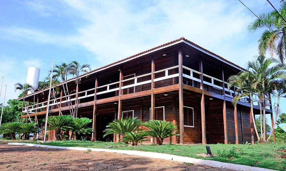 Palacinho foi reaberto ao público — Foto: Antônio Gonçalves/Governo do Tocantins