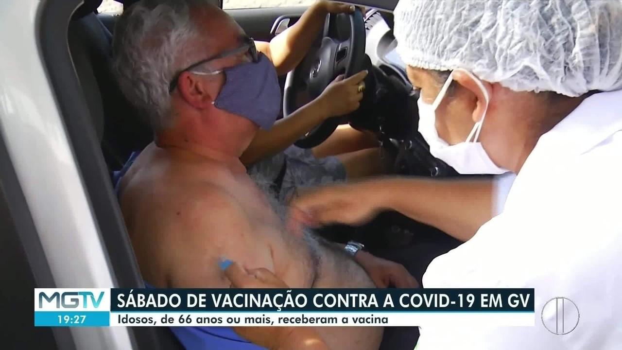 Muitos idosos não retornam para tomar 2ª dose da vacina contra a Covid-19