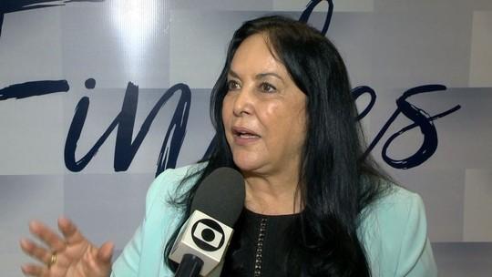 Rose de Freitas fala sobre tratamento de lixo em dia de campanha no ES