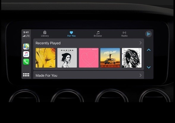 Apple CarPlay iOS 13 (Foto: Divulgação)