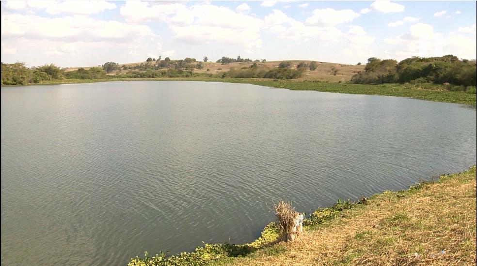 Bacia hidrográfica do alto curso do Rio Santo Anastácio, em Presidente Prudente, deve ser beneficiada pelo Programa Produtor de Água — Foto: Reprodução/TV Fronteira