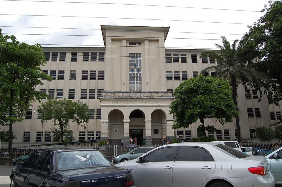 Hospital Getúlio Vargas, localizado no bairro do Cordeiro, no Recife (Foto: Arquivo/G1)
