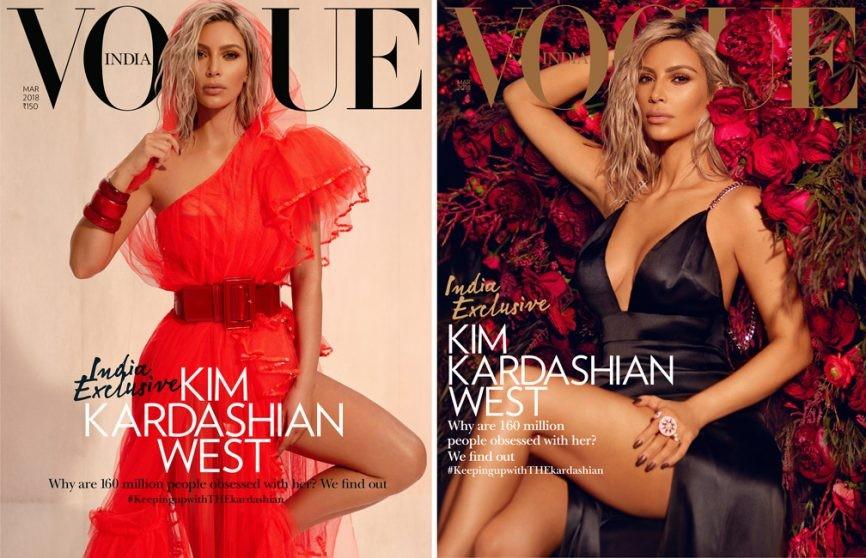 As capas com Kim Kardashian (Foto: Reprodução/Instagram)