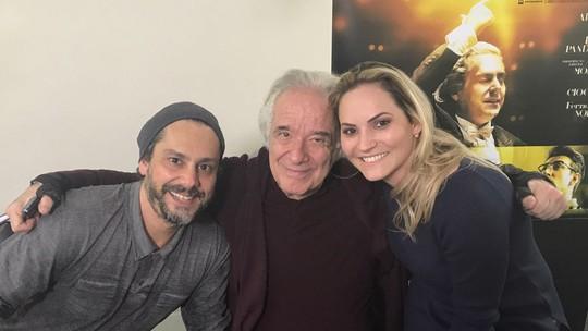 'Estúdio C' bateu um papo com Alexandre Nero sobre o filme 'João, o Maestro'; reveja