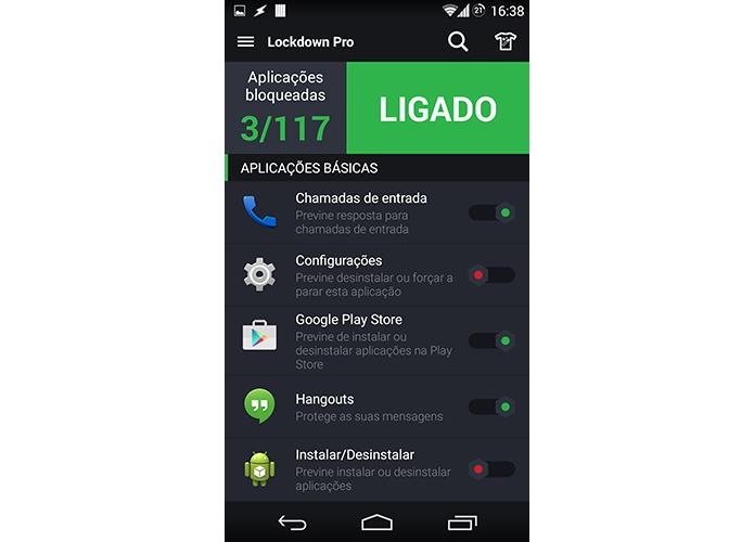 Escolha os apps que deseja bloquear (Foto: Reprodução/Paulo Alves)
