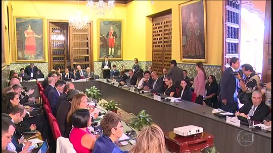 Brasil e mais 12 países decidem não reconhecer novo governo de Maduro