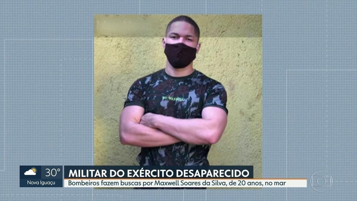 Bombeiros procuram por militar que desapareceu no mar na Barra e criança  que sumiu em rio | Rio de Janeiro | G1