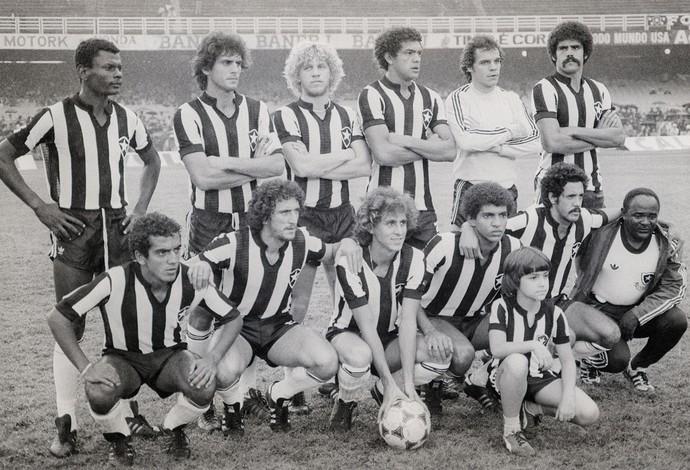 Perivaldo Botafogo 1980 (Foto: Jorge Marinho / Agência O Globo)