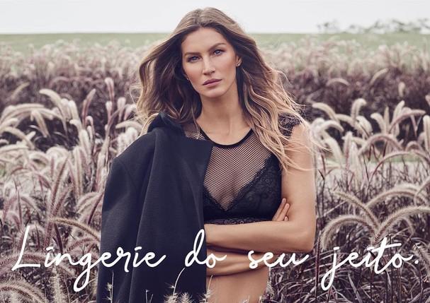Gisele Bündchen estrela nova campanha da Hope (Foto: Reprodução/Instagram)