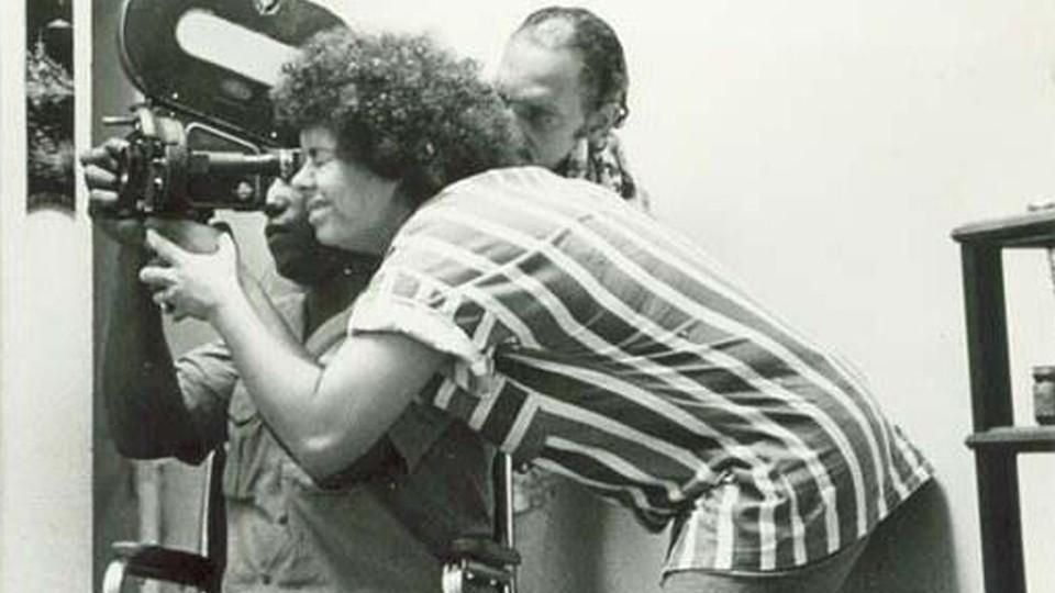Adélia Sampaio na década de 1980 (Foto: Divulgação)