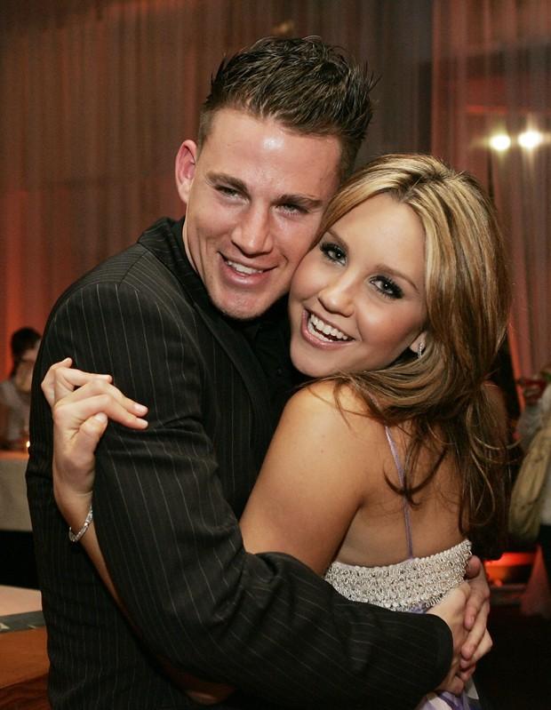 Channing Tatum e Amanda Bynes (Foto: Getty Images)