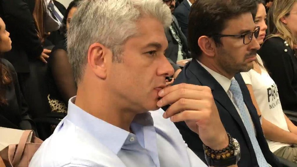O empresário Correa durante julgamento do recurso no TJ de Minas — Foto: Raquel Freitas/G1