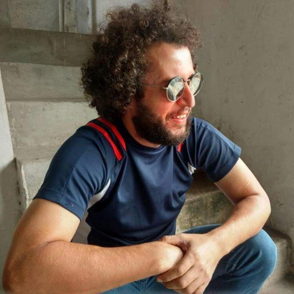 Corpo de jornalista e professor foi encontrado às margens do rio Tietê, em Guarulhos, nesta terça-feira (19). — Foto: Arquivo Pessoal