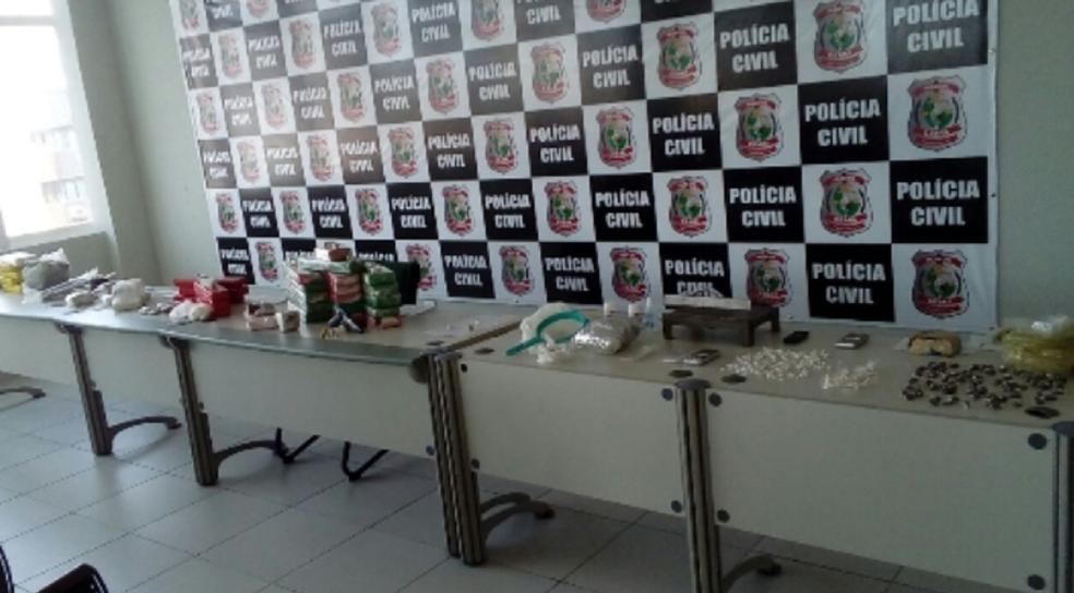 Cerca de 50 kg de drogas são apreendidos e catorze pessoas são presas em ações da DCTD (Foto: SSPDS/Divulgação)