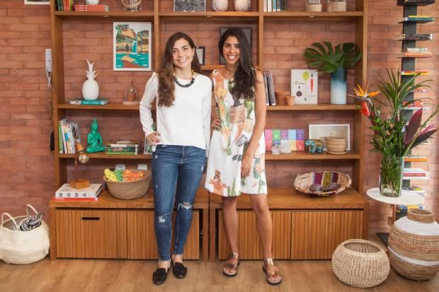 A arquiteta Hana Lerner e Bela Gil (Foto: Guto Queiroz)