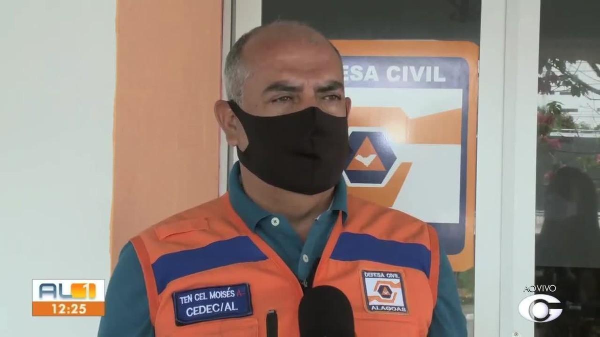 Defesa Civil avalia decretar situação de emergência em Maceió por causa da chuva