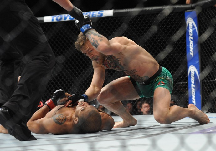 José Aldo x Conor McGregor UFC 194 (Foto: Reuters)