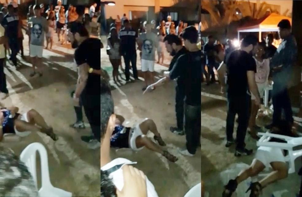 Polícia investiga caso de agressão envolvendo lutador de MMA Ronny Jason (Foto: Twitter/Reprodução)