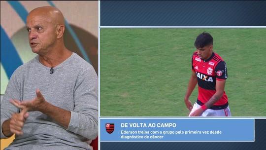 """Repórter exalta Lucas Paquetá, do Fla: """"Jogador que mais evoluiu no Brasil"""""""