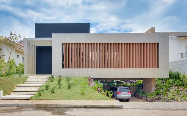 Casa moderna 18 projetos para se inspirar casa vogue for Casa moderna l