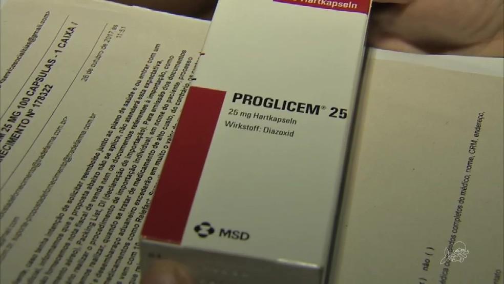 Remédio em falta é importado e demora a chegar ao Brasil, afirma Secretaria da Saúde (Foto: TV Verdes Mares/Reprodução)