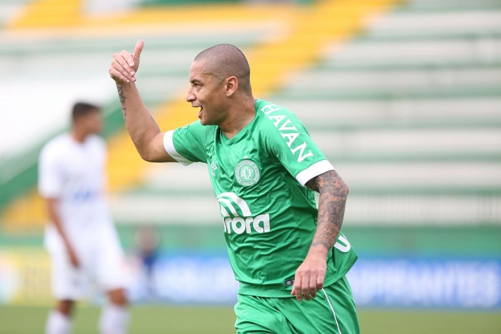Wellington Paulista volta a ser opção contra a Chapecoense — Foto: Sirli Freitas/Chapecoense