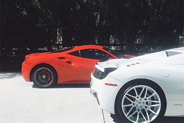 Ferrari 458 Italia - Kylie Jenner (Foto: Instagram)