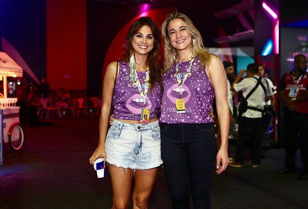 Priscila Montandon e Fernanda Gentil (Foto: Iwi Onodera/Brazil News)