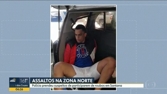 Polícia prende suspeitos de participar de assaltos em Santana
