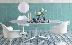 8 ambientes com azulejos geométricos