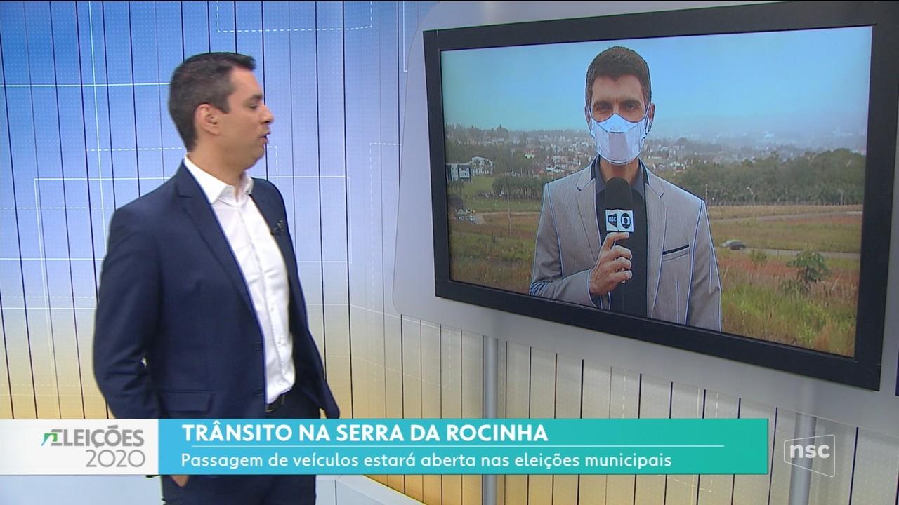 Passagem de veículos estará aberta para eleições na Serra da Rocinha