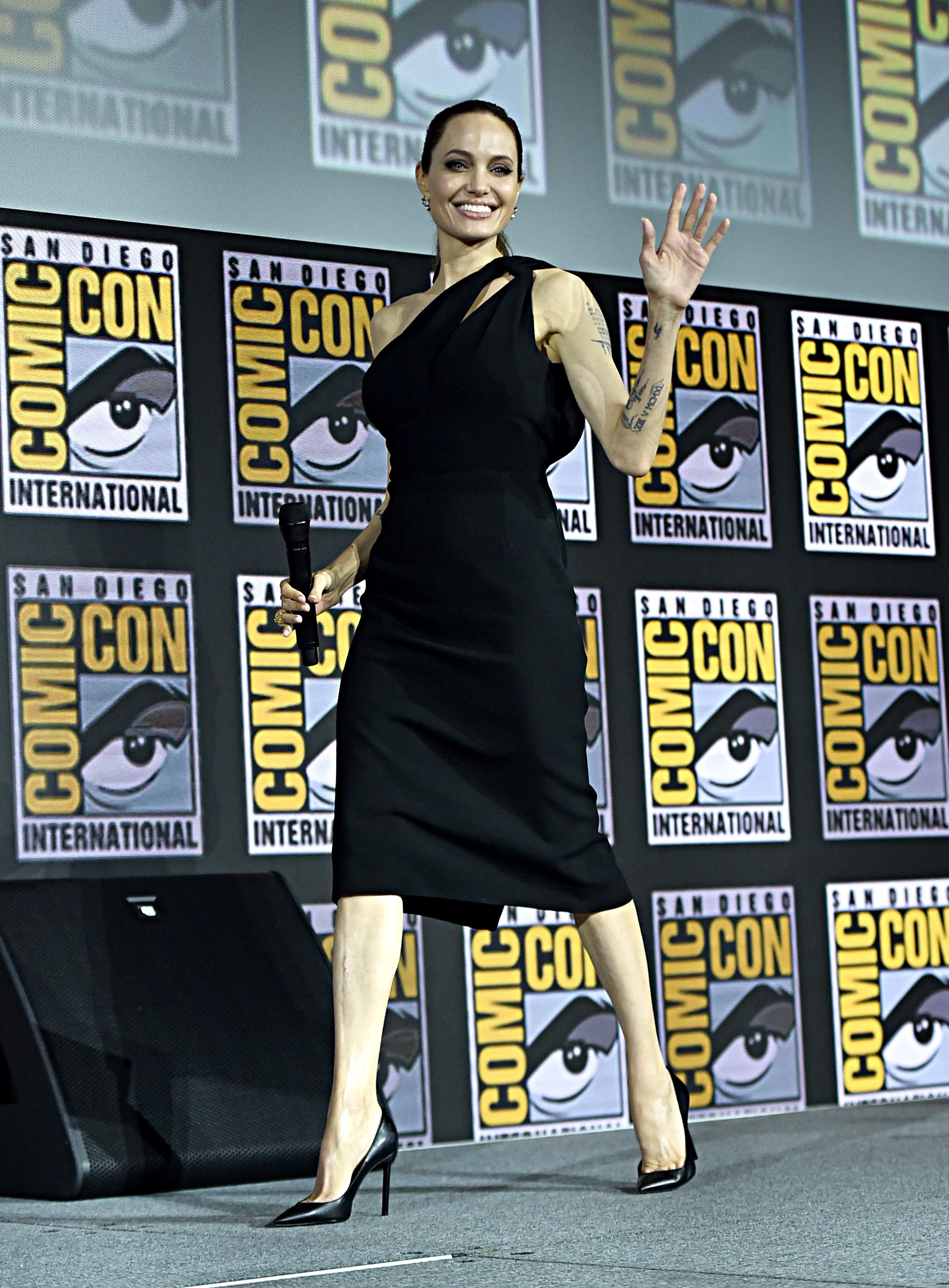 Angelina Jolie na Comic-Con (Foto: Getty Images)