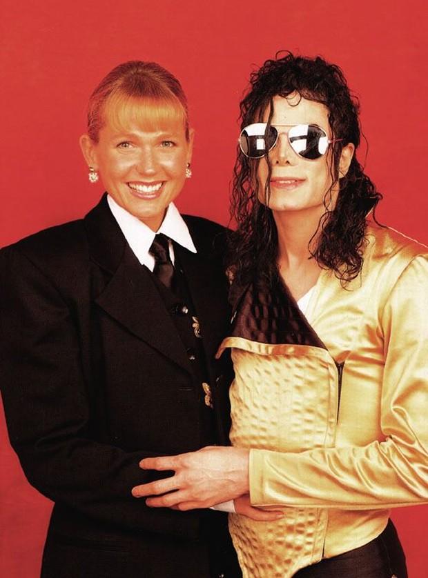 Xuxa e Michael Jackson (Foto: Reprodução/Facebook)