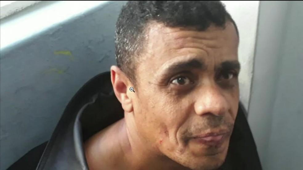 Adelio Bispo de Oliveira, suspeito de ter dado facada em Bolsonaro (Foto: Reprodução/GloboNews)