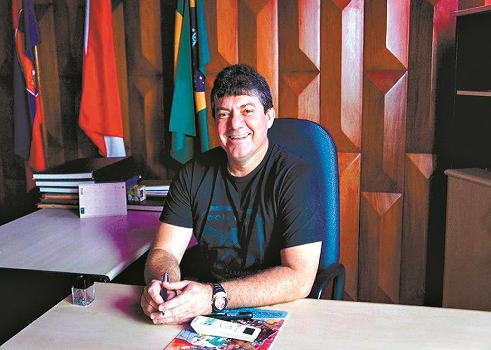 José Ivaldo Martins Guimarães, ex-prefeito de Mãe do Rio, é suspeito de integrar grupo que teria desviado cerca de R$ 4 milhões  (Foto: O Liberal)