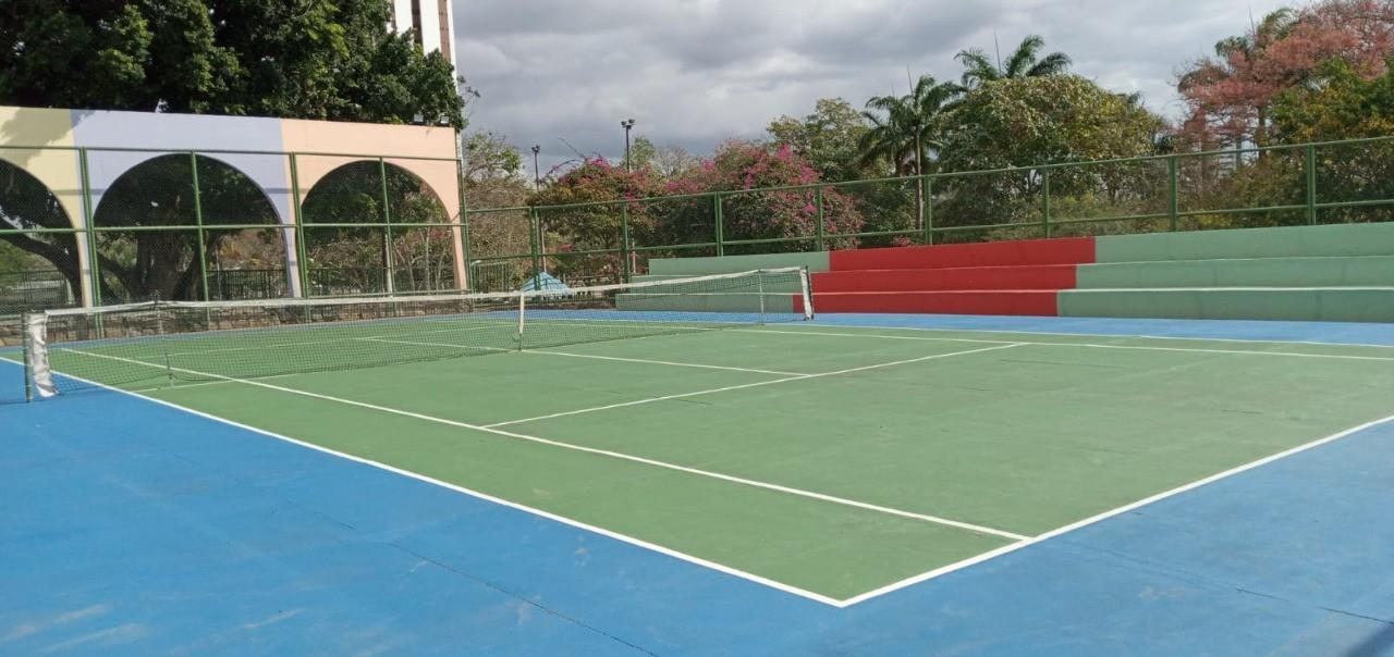 Abertas as inscrições para aulas gratuitas de tênis no Parque da Criança, em Campina Grande
