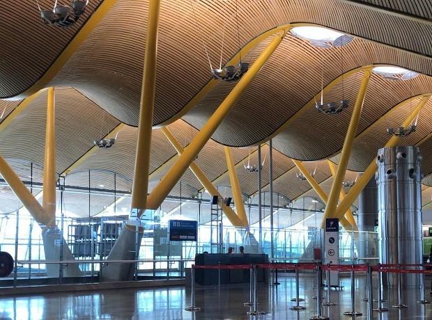 Aeroporto internacional de Barajas, em Madri (Foto: Reprodução/Instagram)