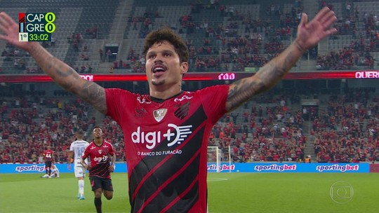 Athletico 2x0 Grêmio: veja os gols e os melhores momentos do jogo da 35ª rodada do Brasileirão