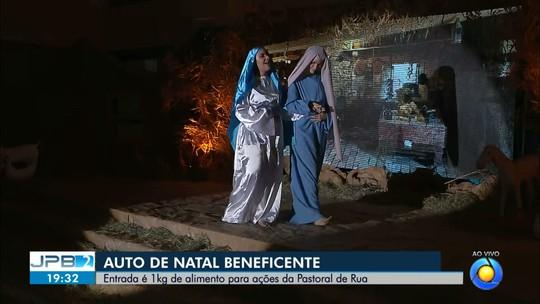 JPB2JP: Auto de Natal beneficente é apresentado em Paróquia de João Pessoa