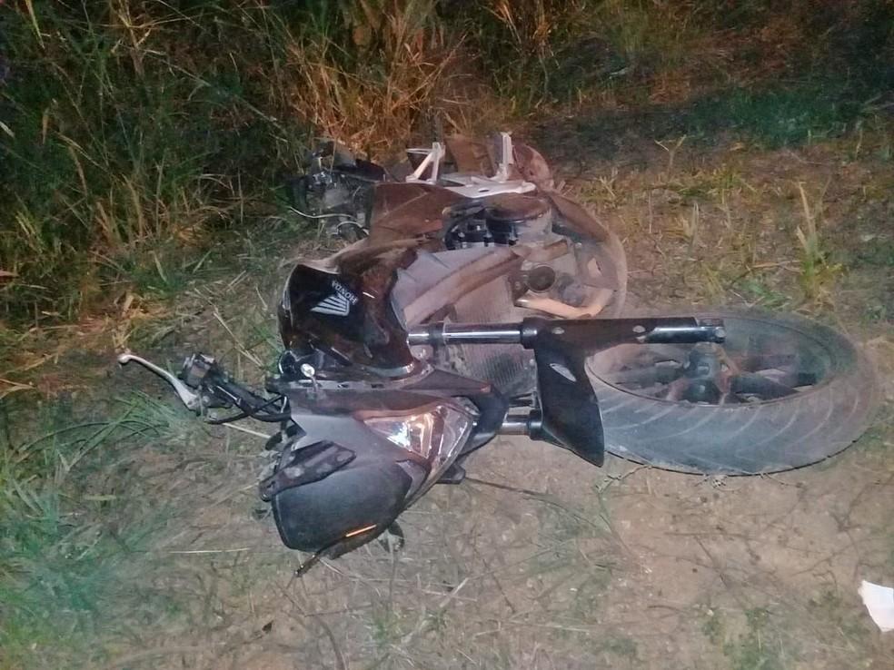 Enfermeiro morreu após atropelar vaca com motocicleta em Diamantino (Foto: Divulgação)