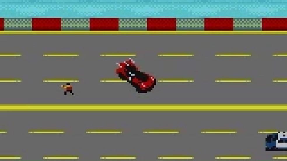 Carmageddon para o GameBoy Color foi uma grande surpresa, mas não rendeu uma adaptação muito boa (Foto: Reprodução/Carmageddon Wiki)