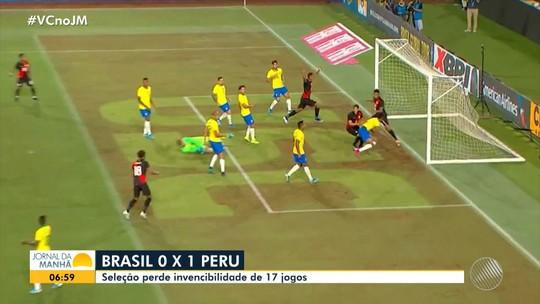 Seleção Brasileira é derrotada por 1 a 0 pelo Peru em amistoso nos Estados Unidos