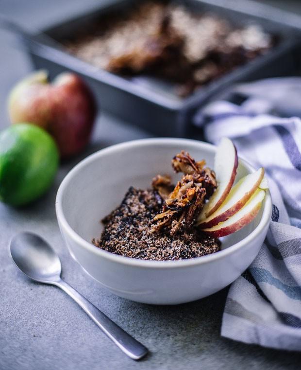 Torta de maçã e canela: combinação deliciosa e saudável (Foto: Simplesmente)