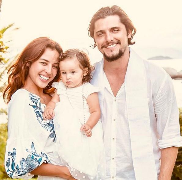 Yanna, Bruno e Madalena (Foto: Reprodução/Instagram)