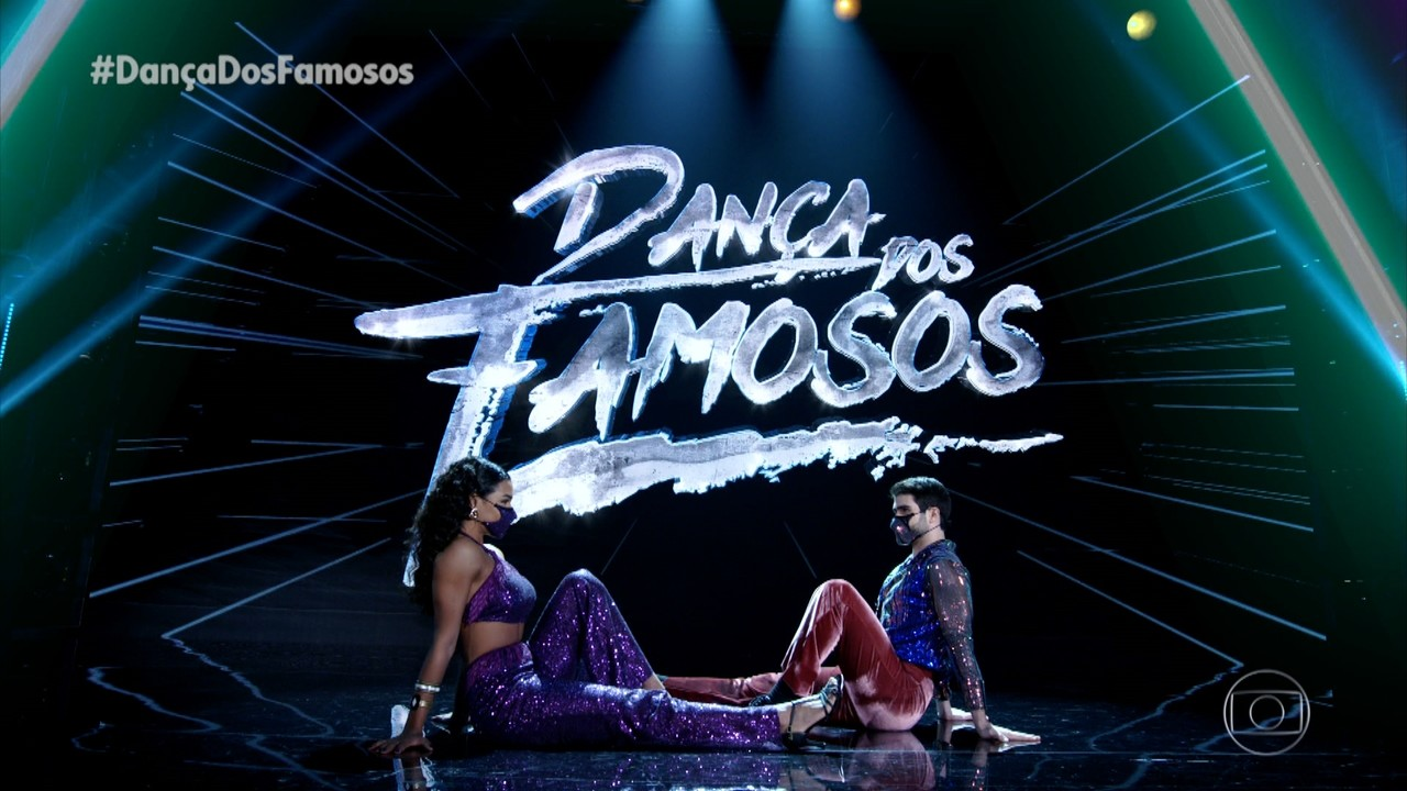 Juliano Laham e Nathalia Zannin dançam 'Blamie On The Boogie'