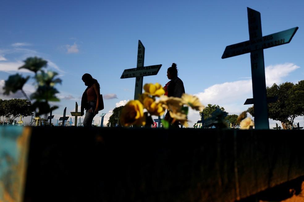 Vítimas da Covid — Foto: Bruno Kelly/Reuters