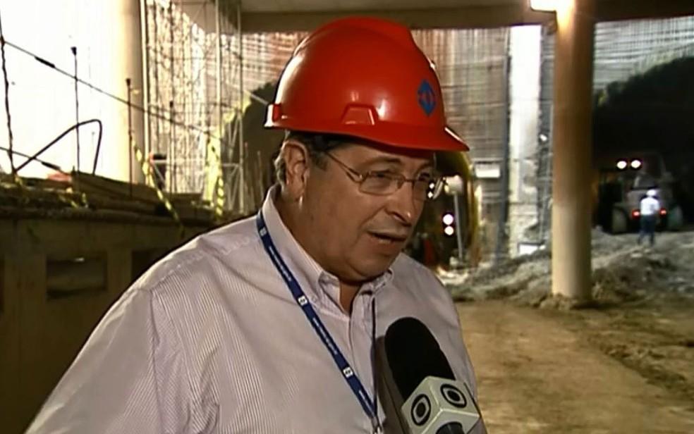 Sérgio Corrêa Brasil, ex-diretor do Metrô de São Paulo, é um dos 14 réus em ação por corrupção no Metrô — Foto: Reprodução/TV Globo