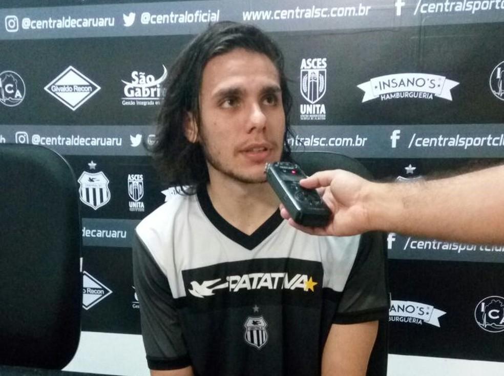 Rafael Brusqueti Central (Foto: Warley Santos / Central)