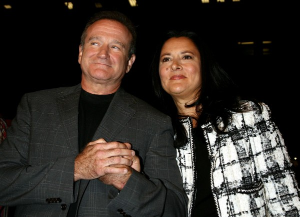 Robin Williams e Marsha Garces (Foto: Getty Images)